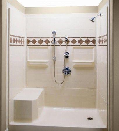 Bathroom Bath Shower Kits With Seat Shower Stall Kits