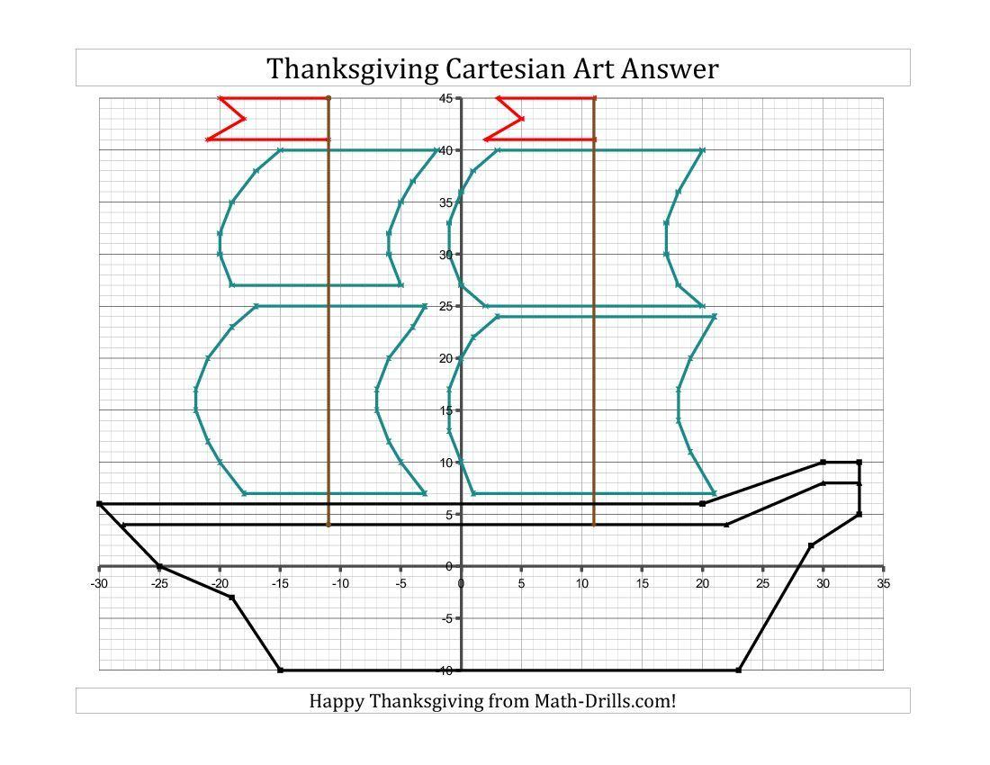Cartesian Art Worksheet Make