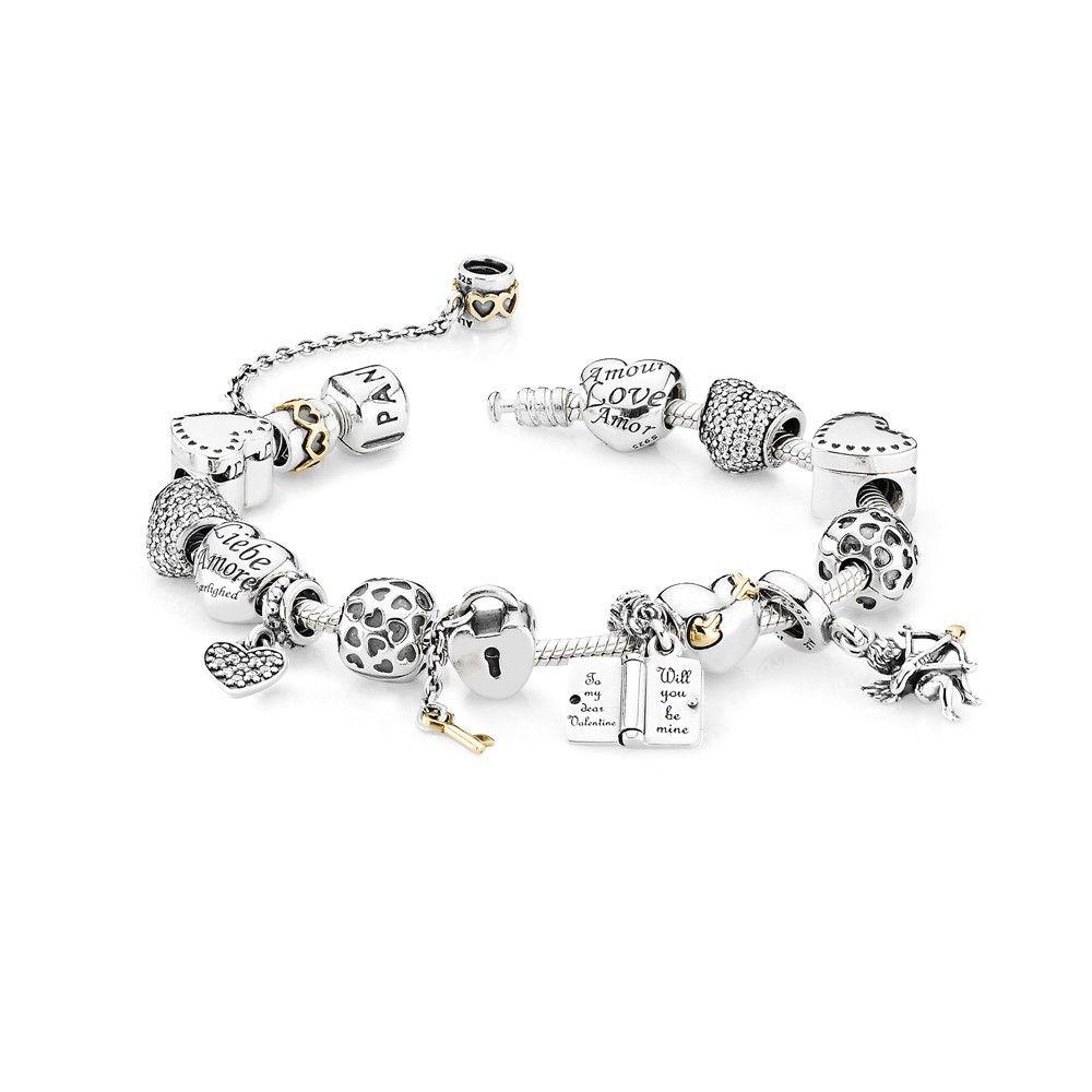 Bracelet Pandora Cupidon Pandora Saint Valentin 2014