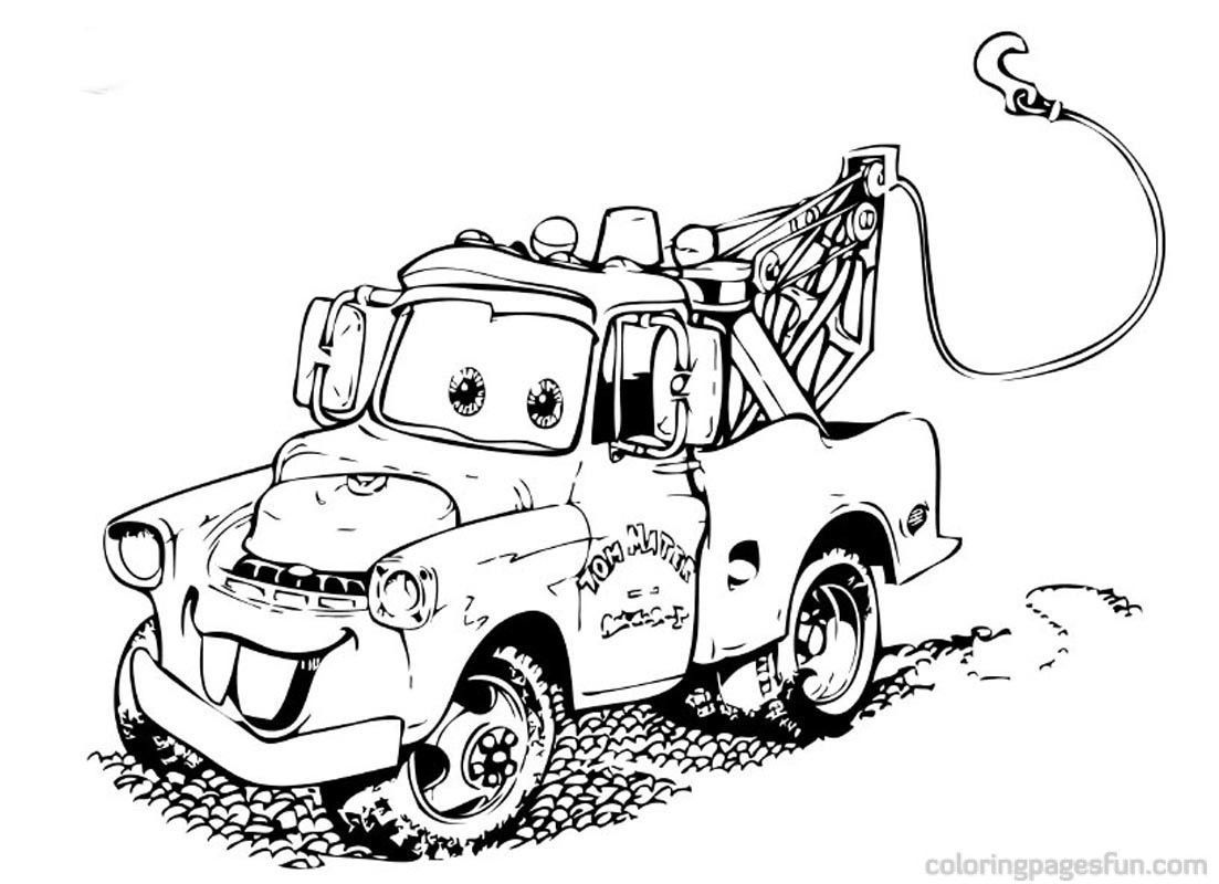 Pixar Cars Coloring Pages Pdf Cars Coloring Page Free
