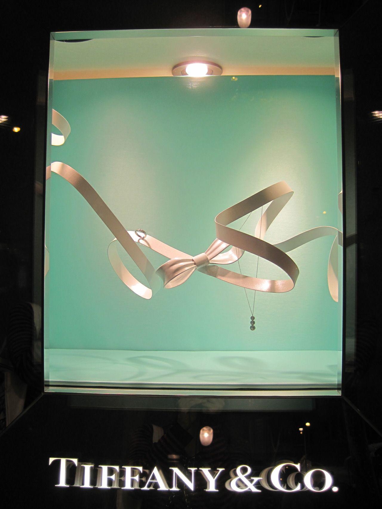 Tiffany Visual Merchandising Barcelona Vitrinas