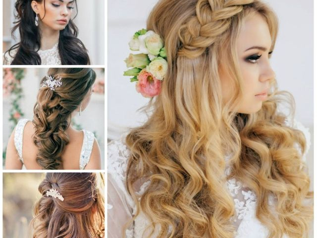 wedding half up half down hairstyles for 2016 | haircuts