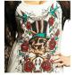 M boutique lace dress  NWT Affliction rose skull SM Boutique  Retail