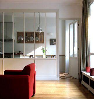 une verriere d interieur pour illuminer et agrandir ma piece salons interiors and kitchens