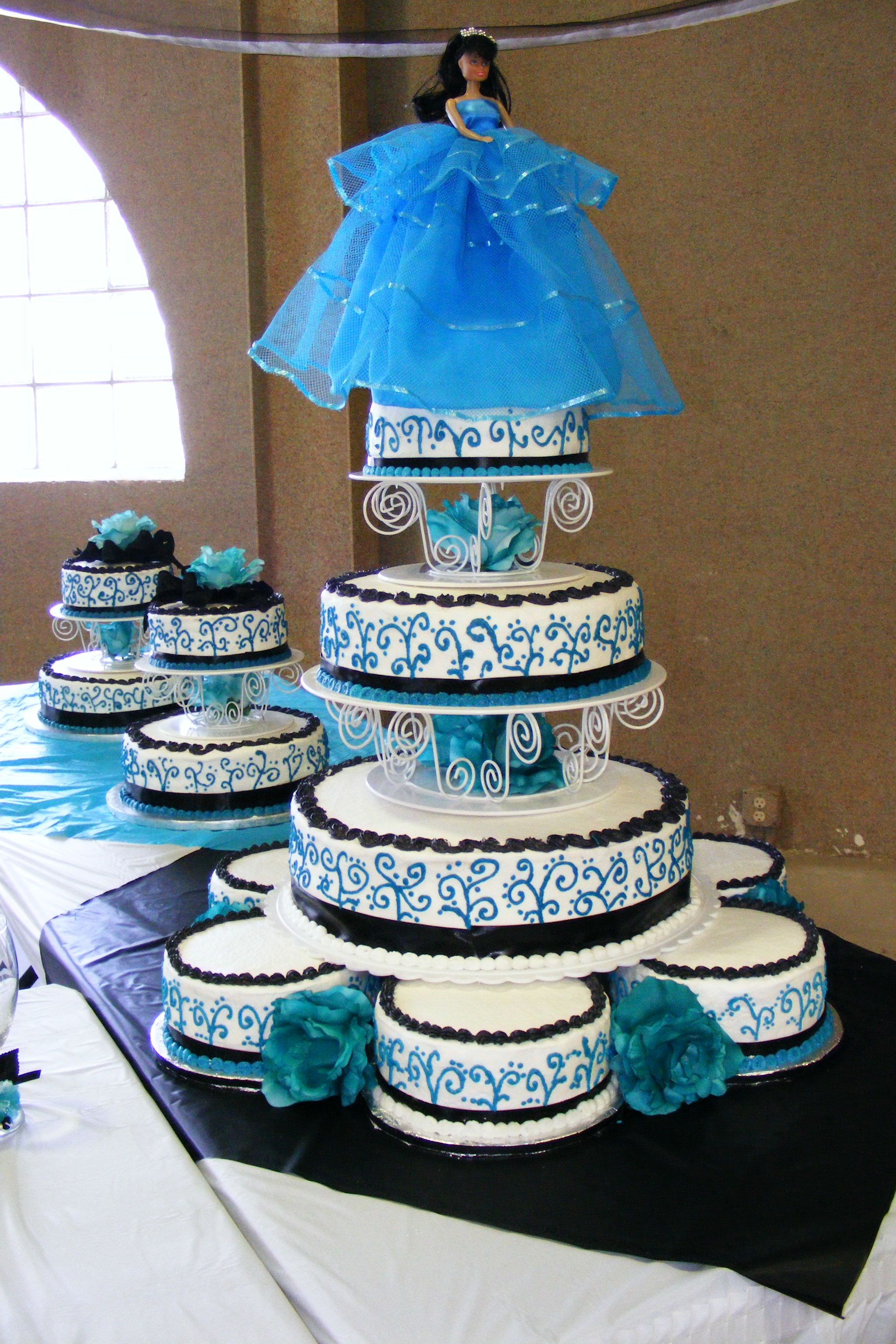 First Quinceanera Cake