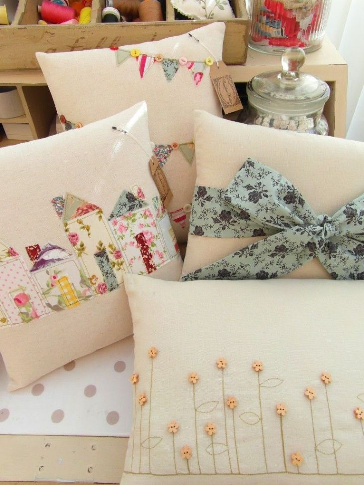 DIY Projects for Lovely Cushions Buntings Random and Galleries