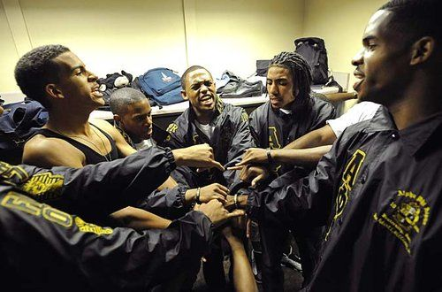 Those Ice Cold brothers of Alpha Phi Alpha, Inc. at ...