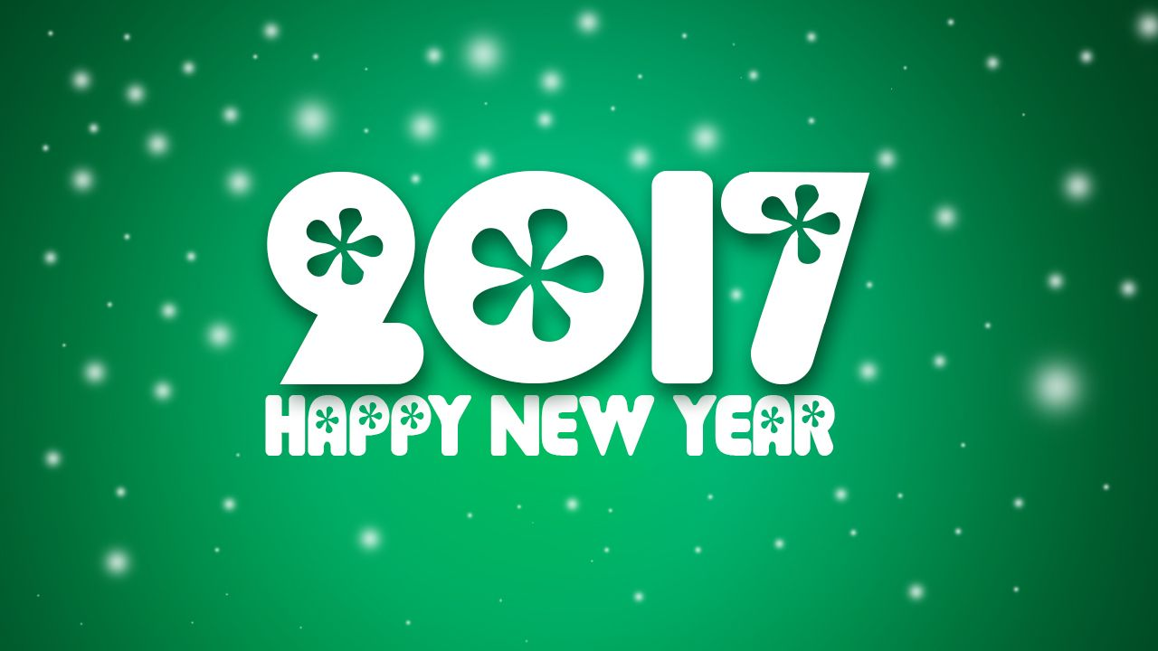 message new year wallpapers