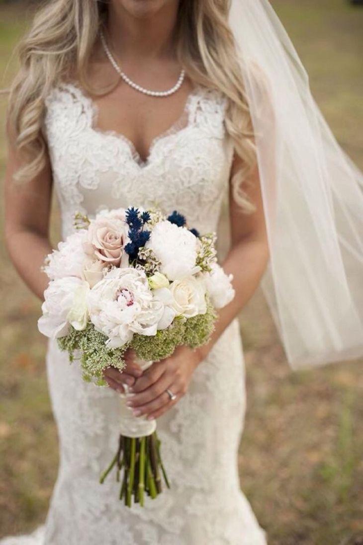 Bride Inspirationwhites cream champagne blush dark accent