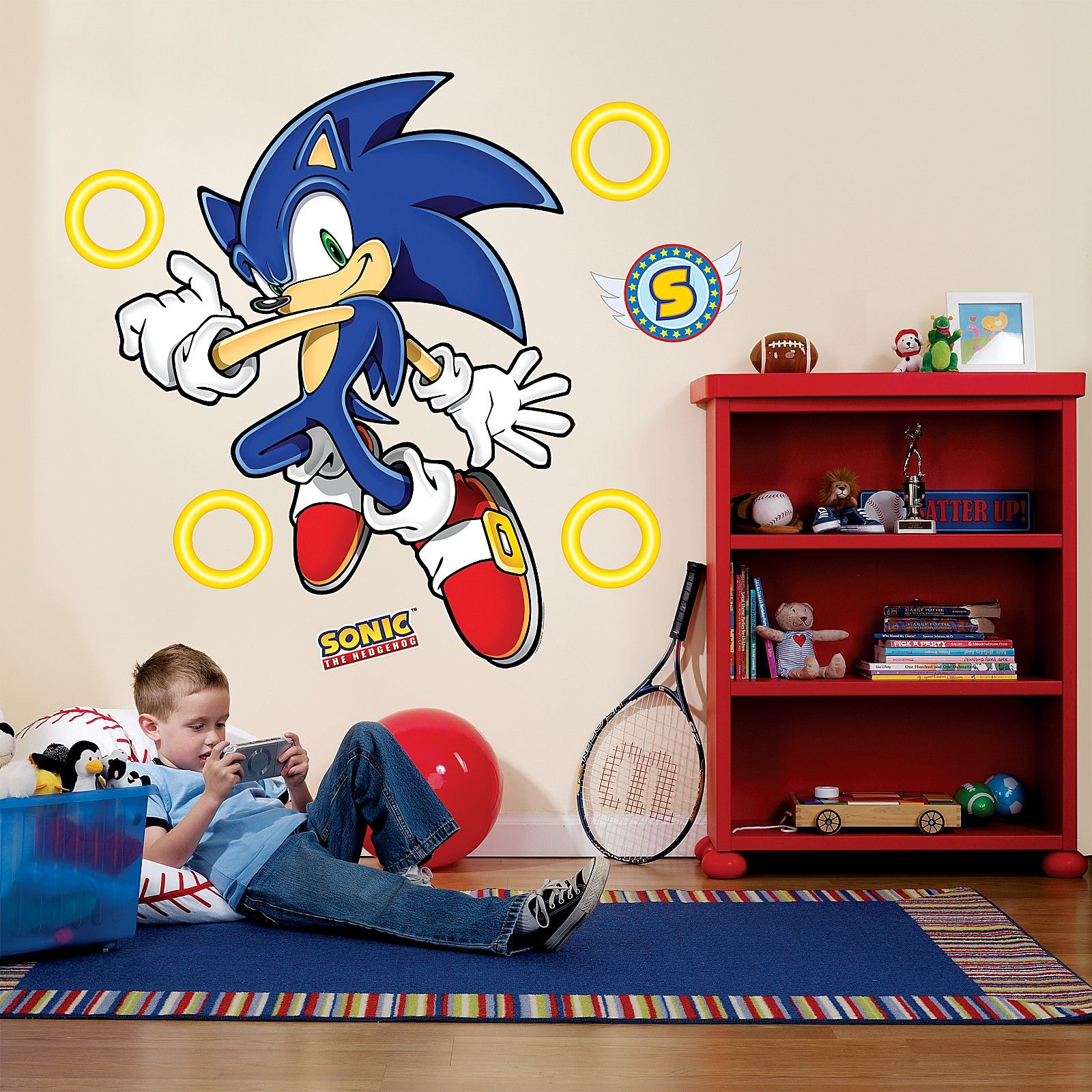 sonic the hedgehog giant wall decals best wall decals ideas on sonic wall id=12953