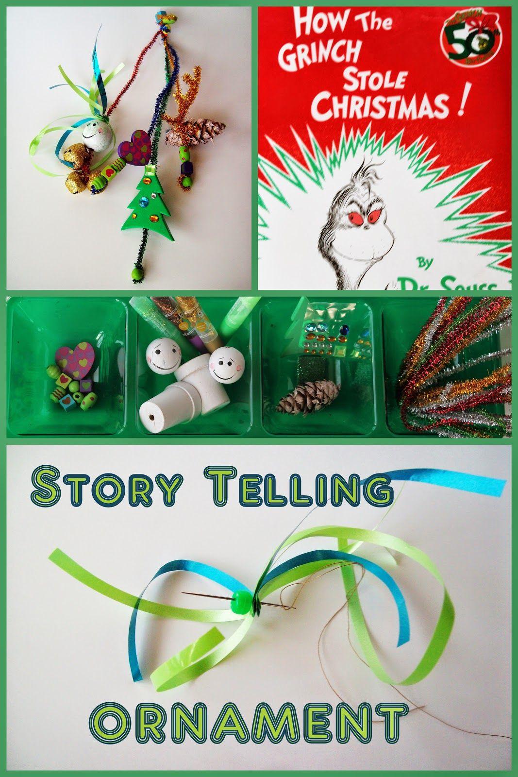 Storytelling Ornament