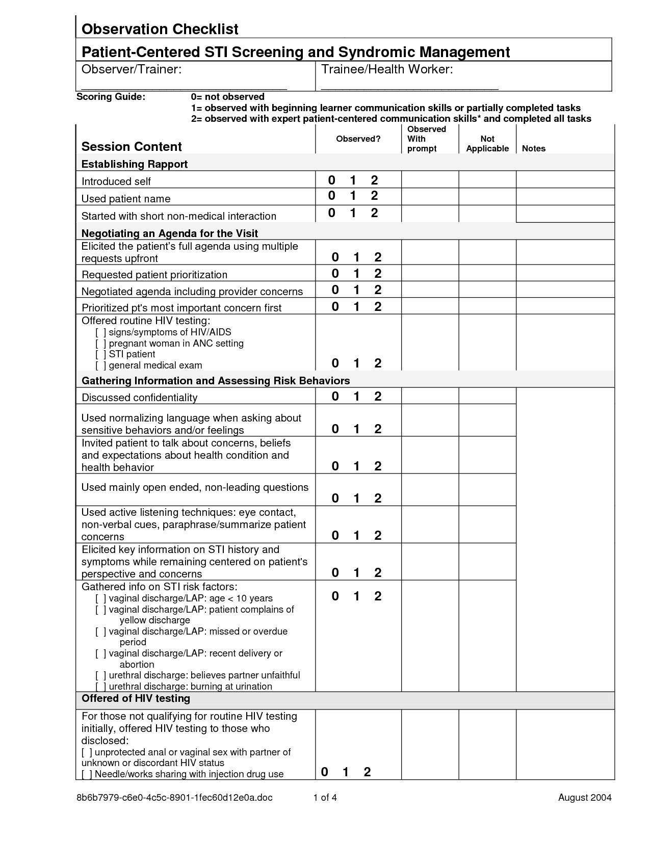 Examples Of Preschool Classroom Management