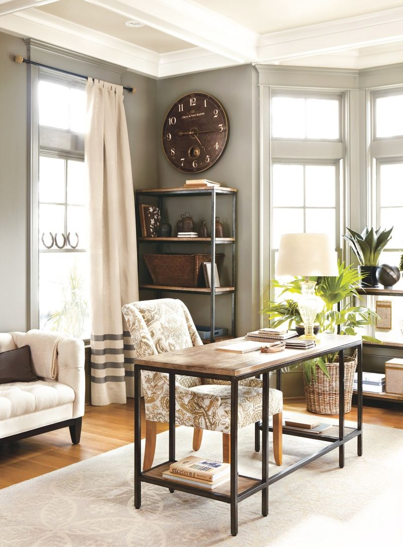 gray home office office pinterest paint colors on best colors for home office space 2021 id=43660