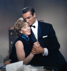 Image result for lois maxwell and sean connery