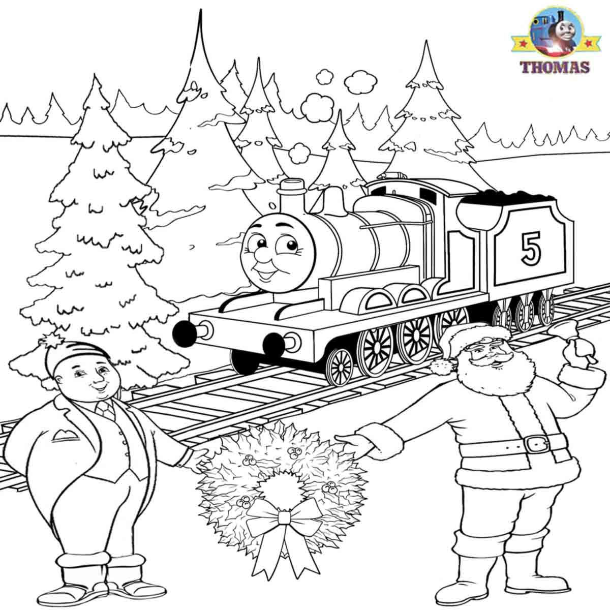We Let It Snow Kid Free Worksheets James Train Santa Claus Awesome