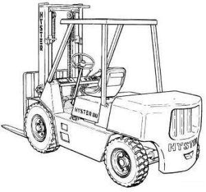 Hyster Forklift G006 Series: H600XL (H135XL; H135XL2), H7