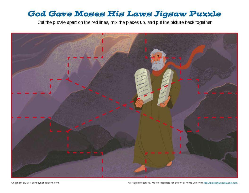 10 Commandments Jigsaw Puzzle
