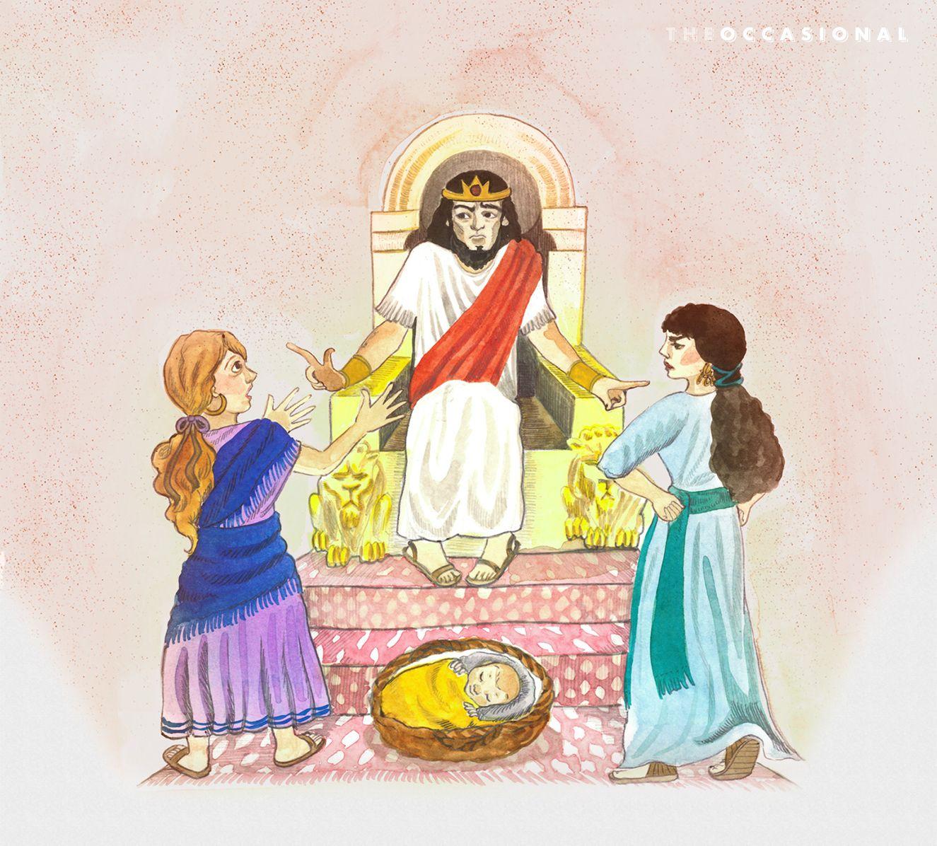 Wise King Solomon Preschool Lesson
