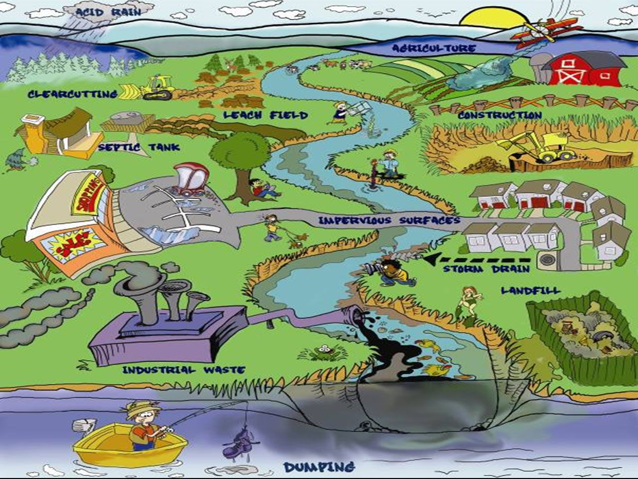 The Sources And Impacts Of Water Pollution