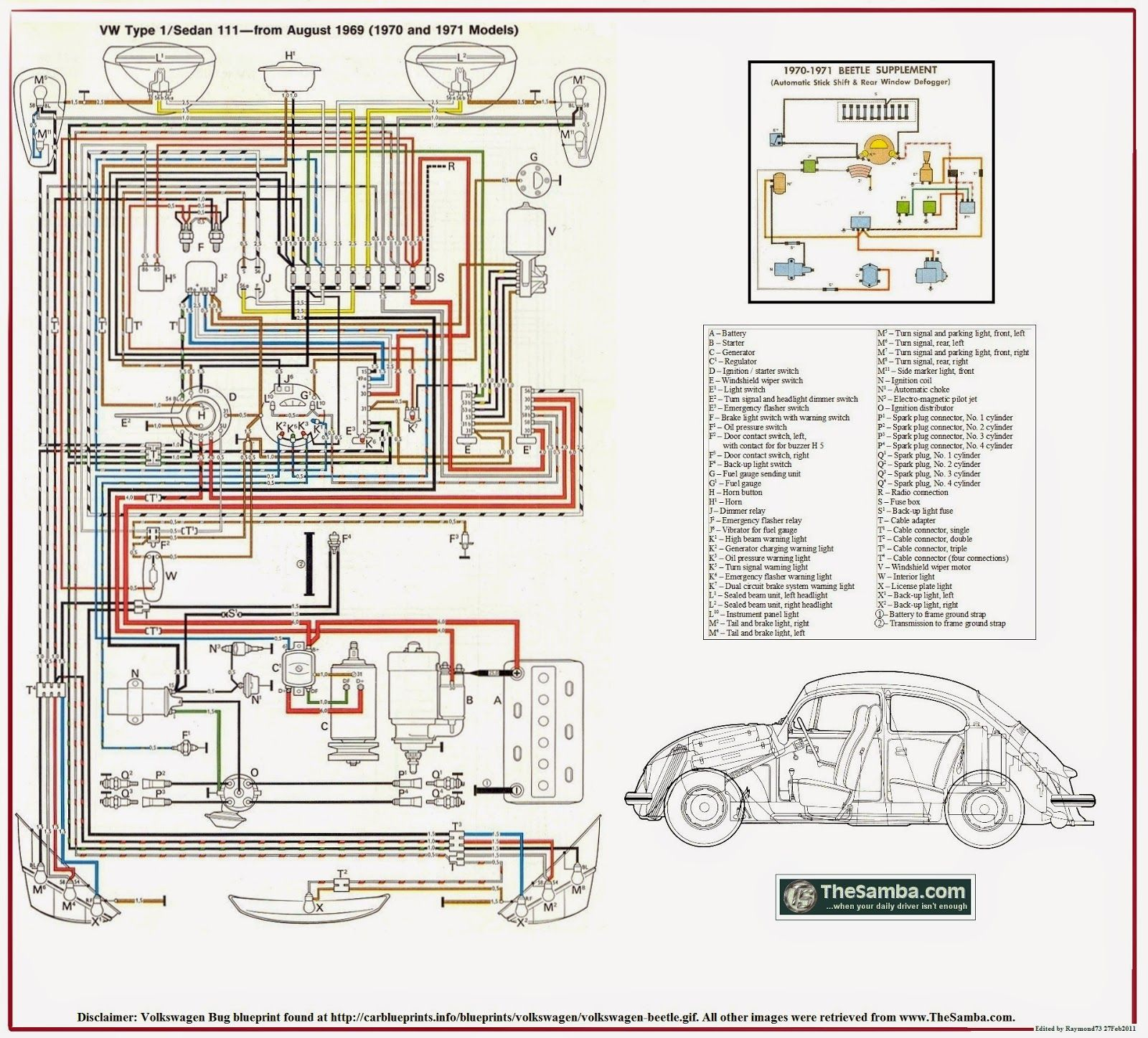 Baja Bug Empi Wiring Harness Electrical Diagrams Diagram Vw Buggy Schematic Toy Car