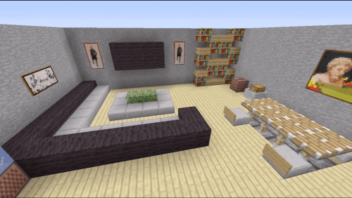 Minecraft Living Room Designs To Ease You Finding Types Of Want This Awesome Contain 15