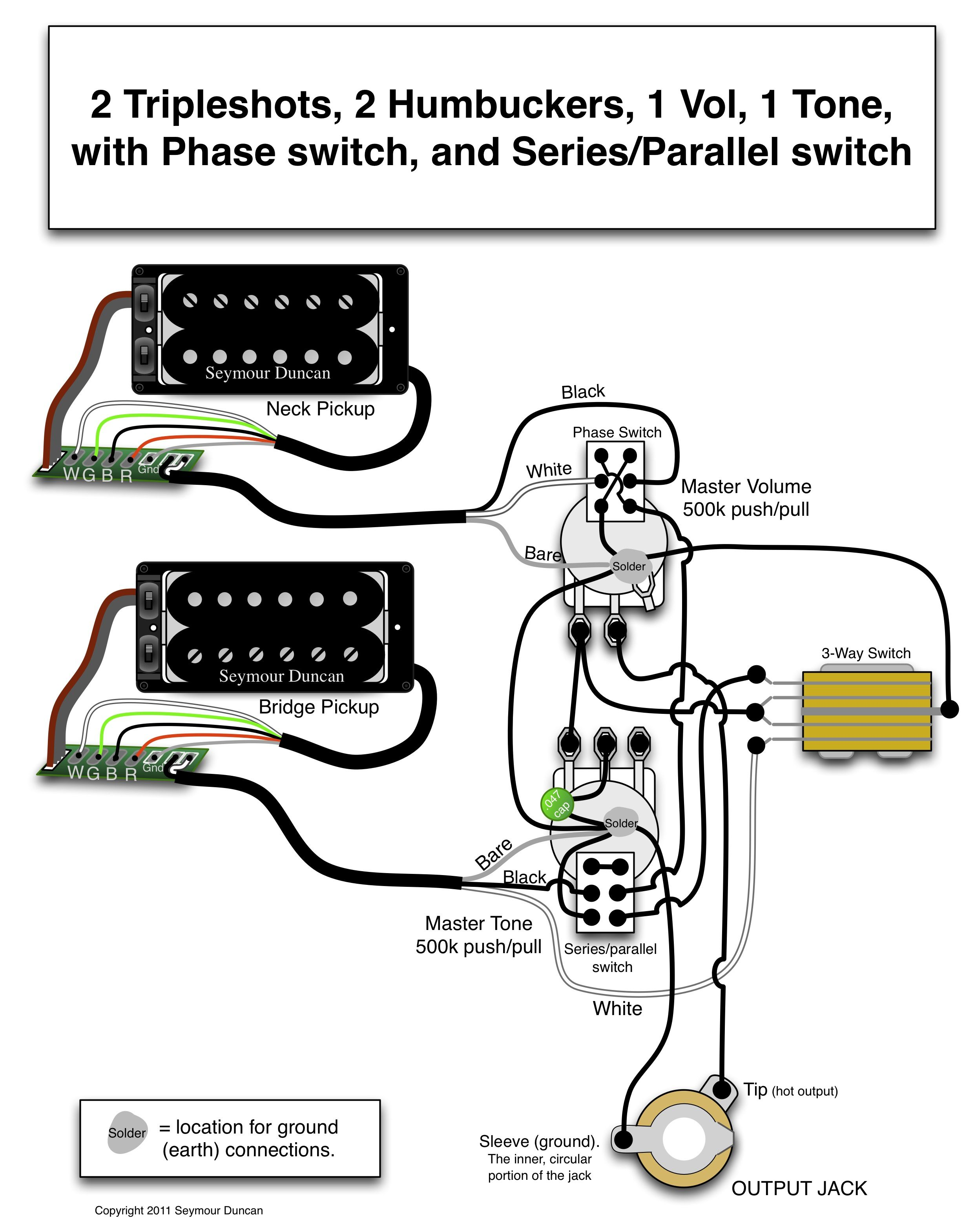 Seymour Duncan Wiring Diagrams Sss