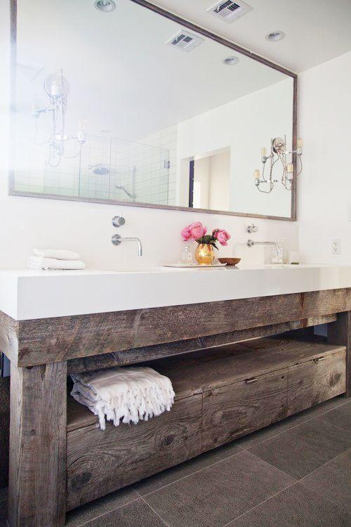 45 captivating bathroom vanity designs | rustic bathroom vanities