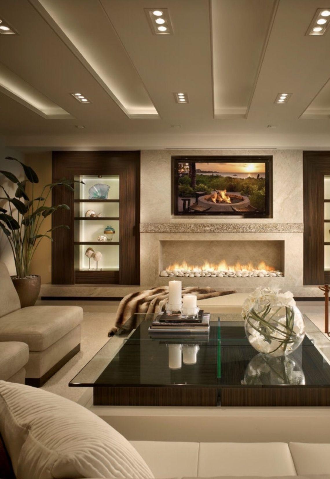 Linear fireplace | Design | Pinterest | Linear fireplace ...