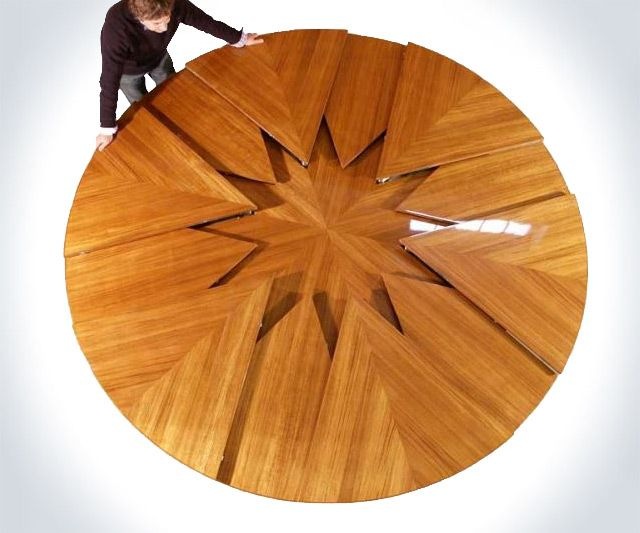 The 25 Best Expanding Round Table Ideas On Pinterest