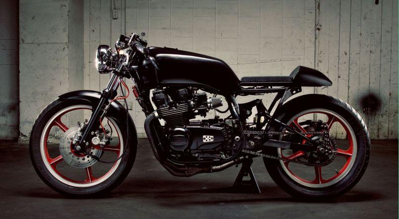 1983 Kawasaki Gpz 550 Cafe Racer Menhavestyle1com