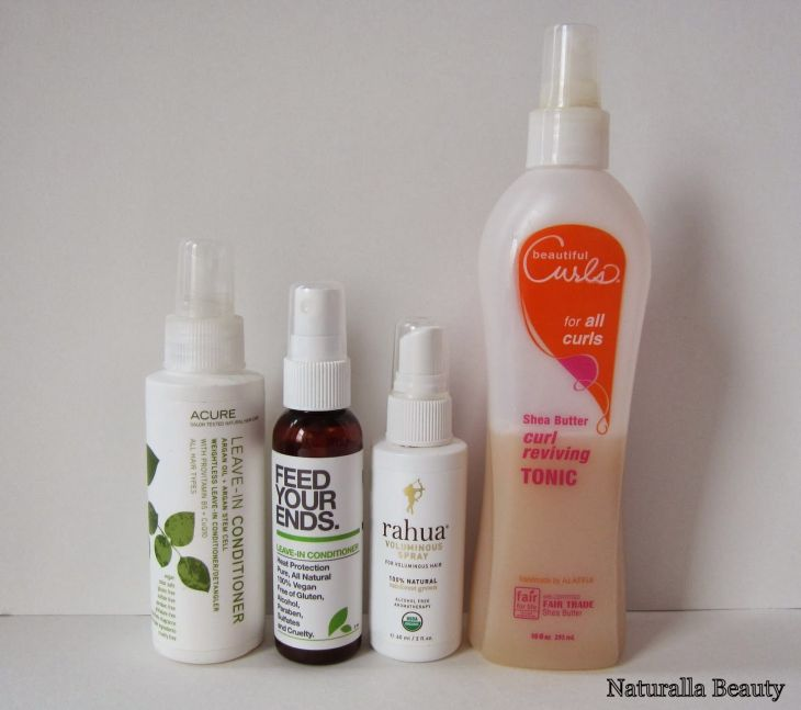 Naturalla Beauty A Selection of NonHairspray Hair Sprays to revive