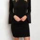 Black flare sleeve mini dress boutique mini dresses minis and