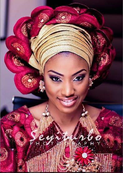 Nigerian Yoruba Traditional Wedding Attire Bride Latest African Fashion Women Dresses Prints Clothing Jackets