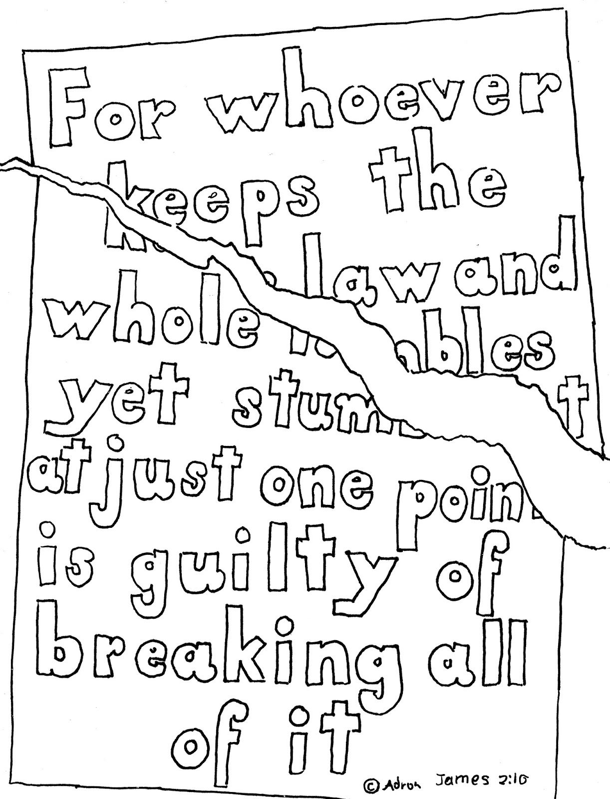 Coloring Pages For Kids By Mr Adron James 2 10 Print And