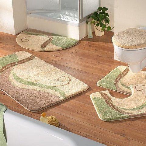 luxury bath rug ~ http://modtopiastudio/choosing-the-tropical
