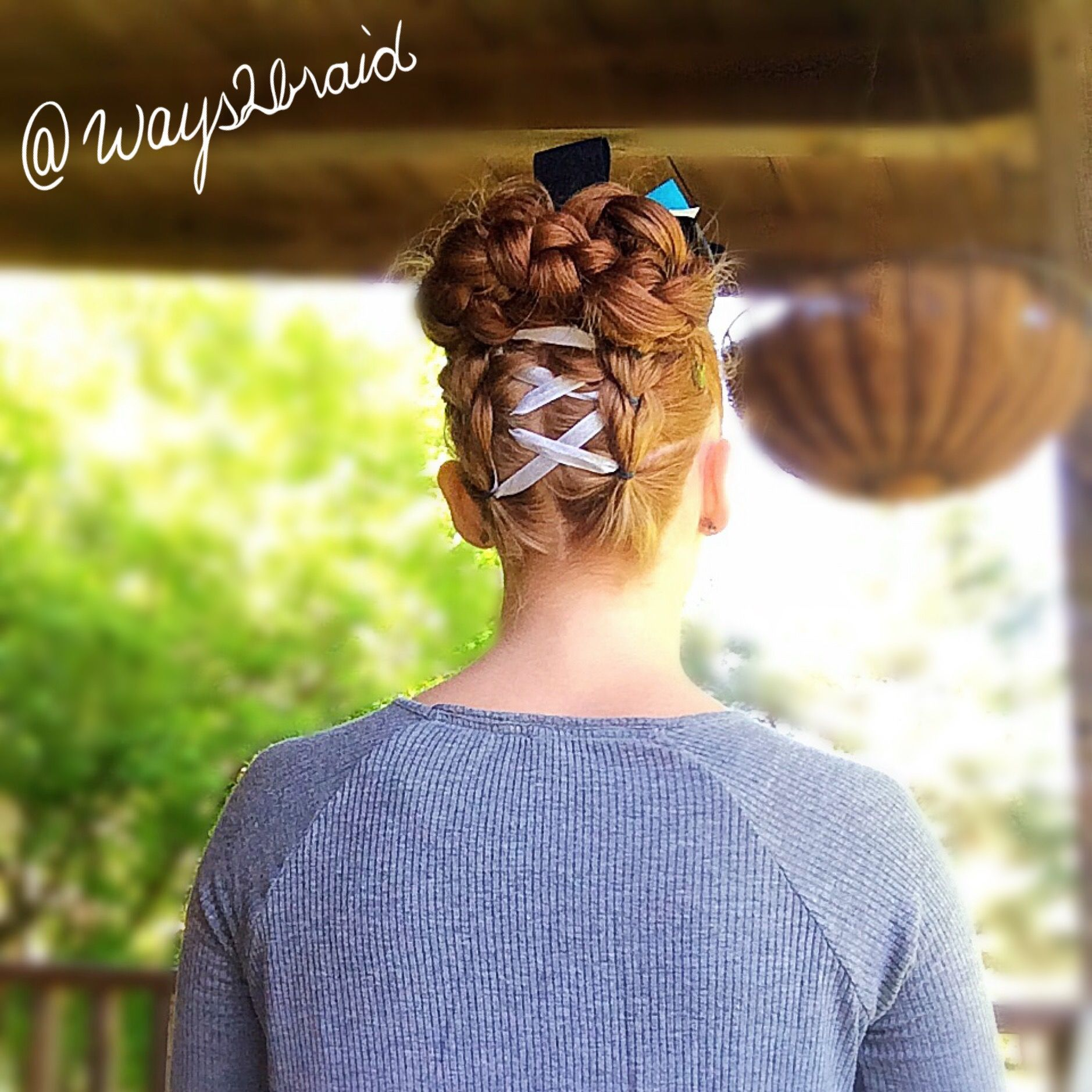 Pin by Ways 2 Braid on Fun with Buns