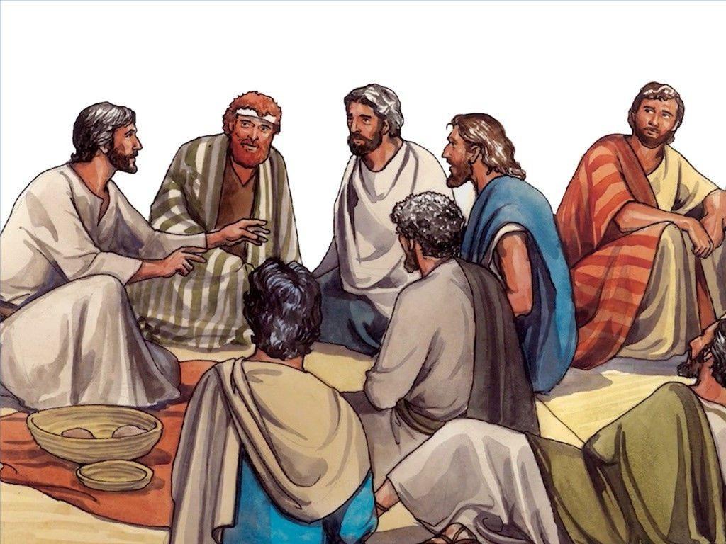 Free Visuals Twelve Disciples Sent Out