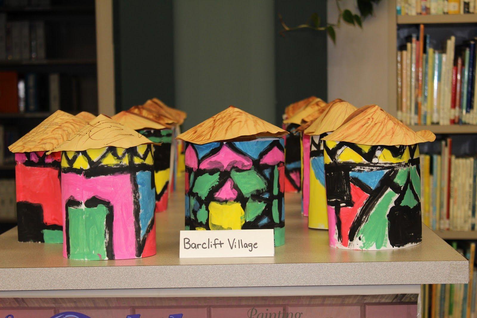 Ndebele House Art Lesson