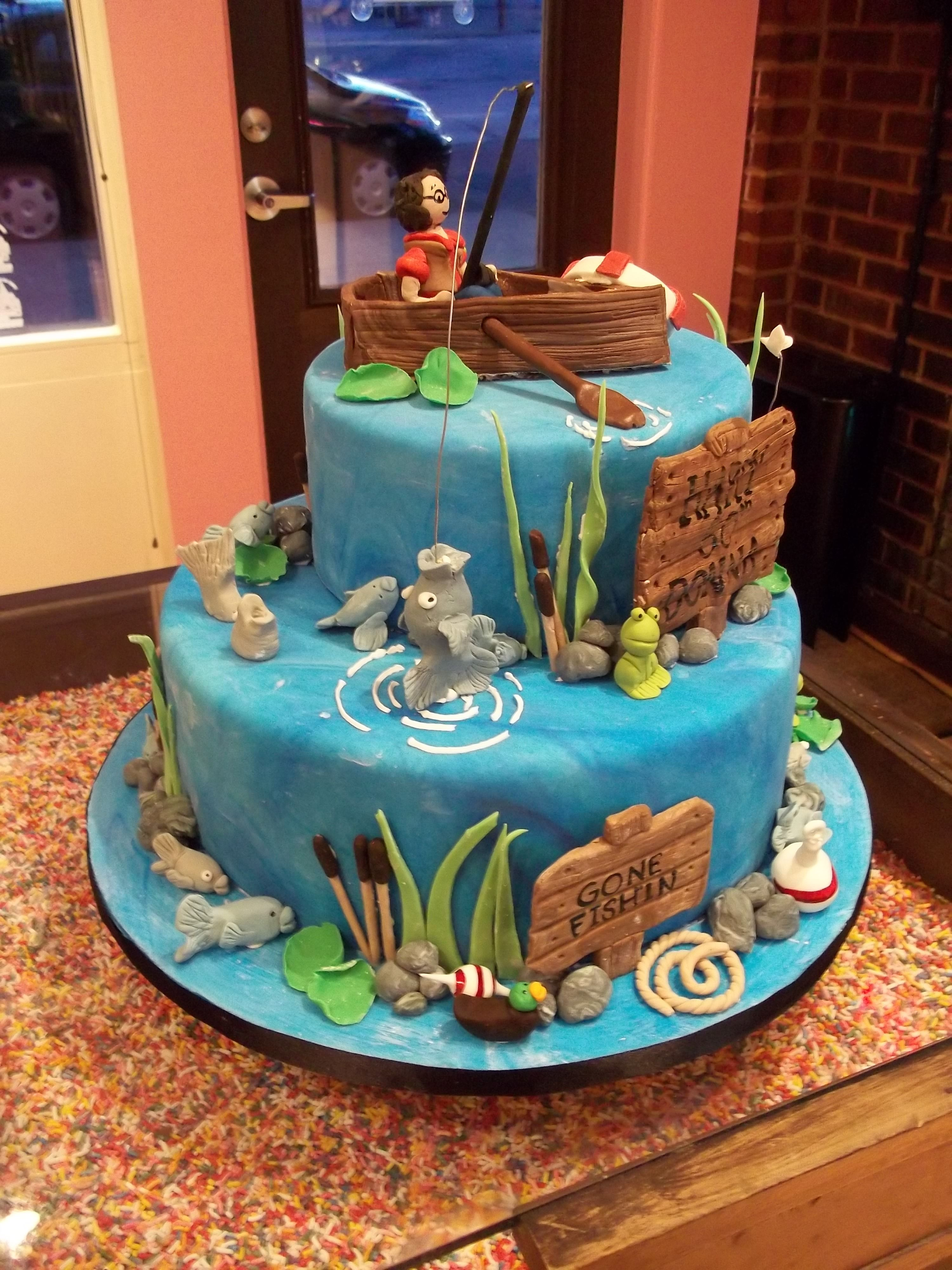 Row Your Boat Cake Ideas
