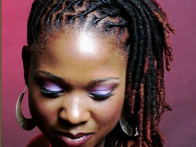 short dreadlock styles for black women | dreadfully gorgeous