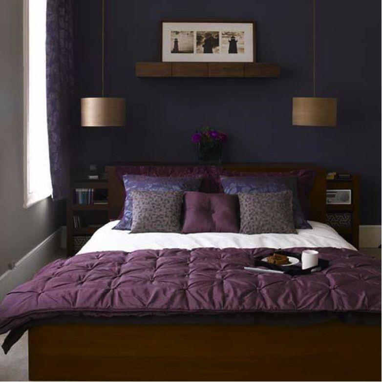 Small Bedroom Dark Colors