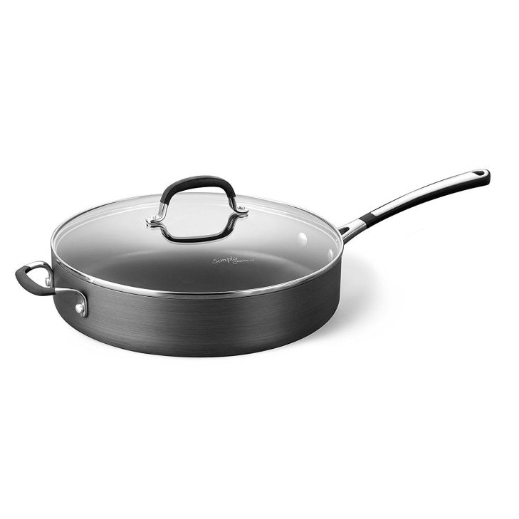 Simply Calphalon Nonstick qt Sauté Pan and Cover ueueue Click on the