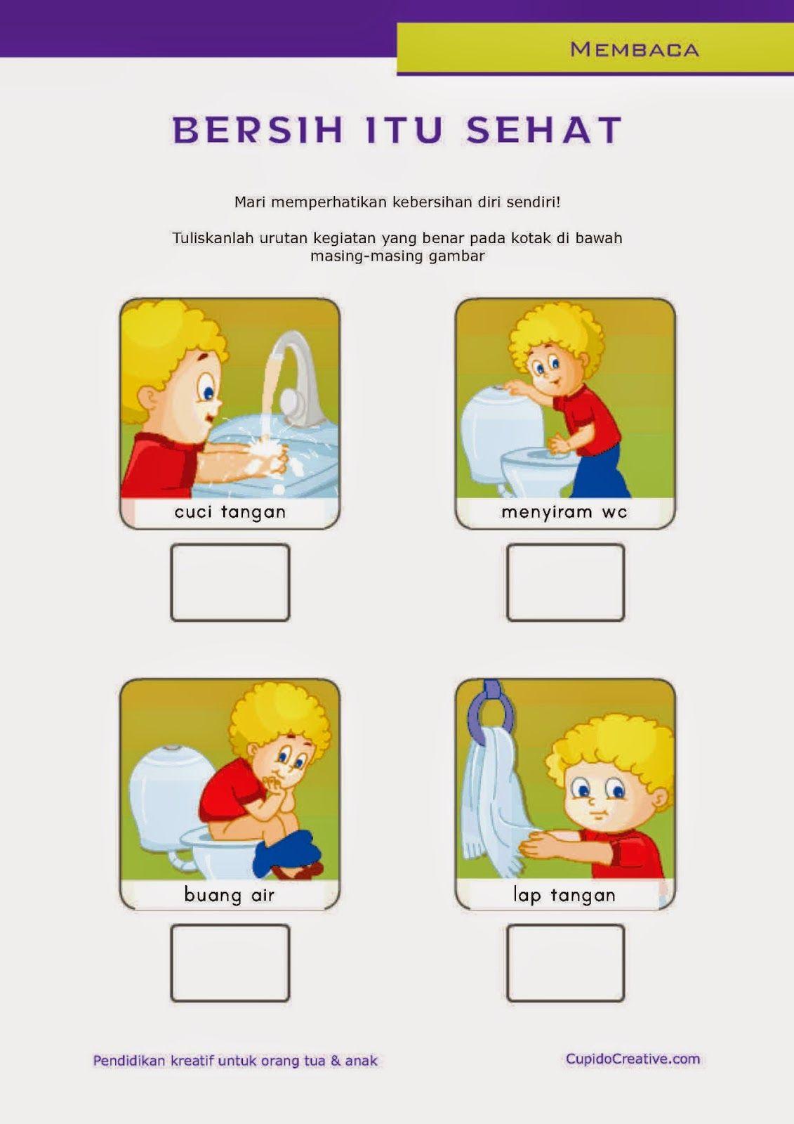 Belajar Membaca Untuk Sd Kelas 1 Belajar Kebersihan