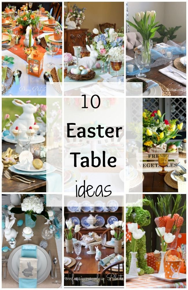 let your table at easter shine this year there are so many pretty ideas you can get inspired by with some of these 10 easter table ideas