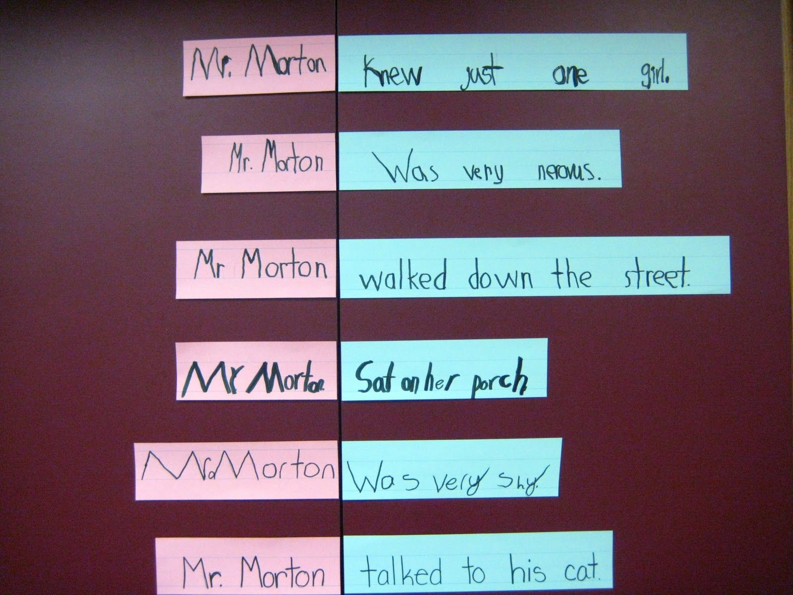 Best 25 Subject Predicate Activities Ideas