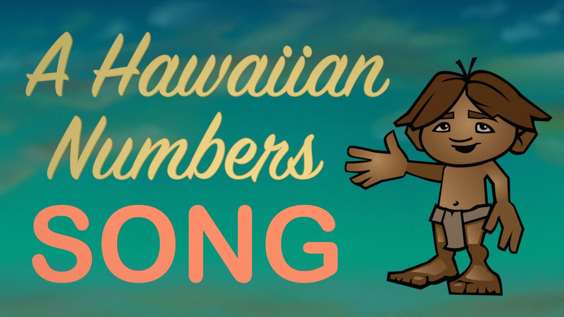 Learn The Hawaiian Numbers From 1 To 10 In Lelo Hawai I With Our Animated Learning Video