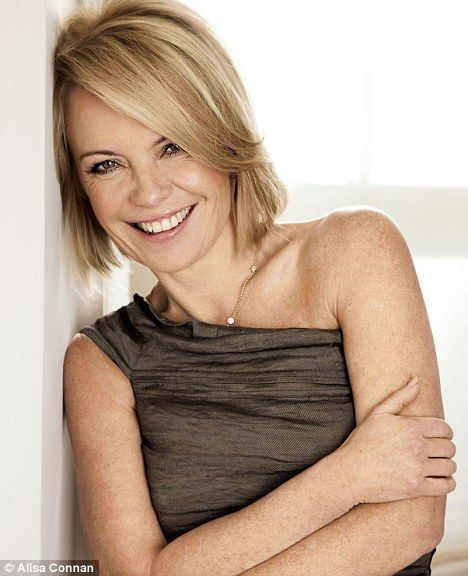 Seriously blonde: TV's Mariella Frostrup reveals her ...