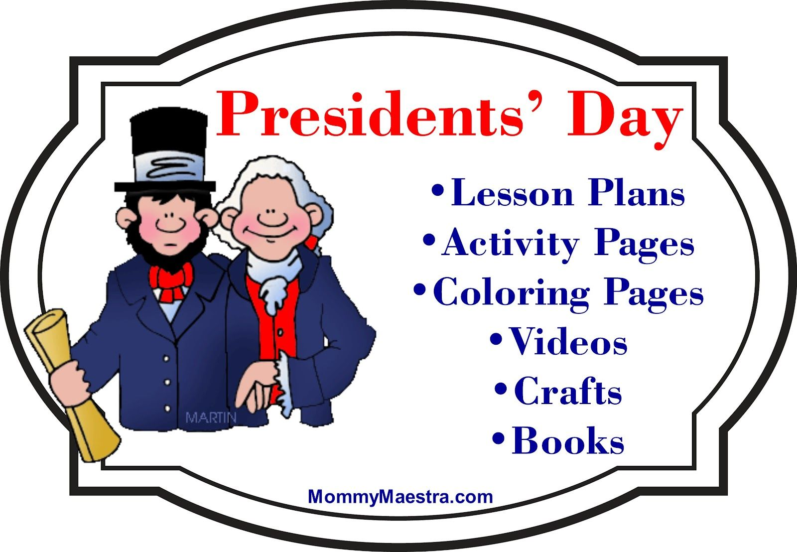 Presidents Day For Kids