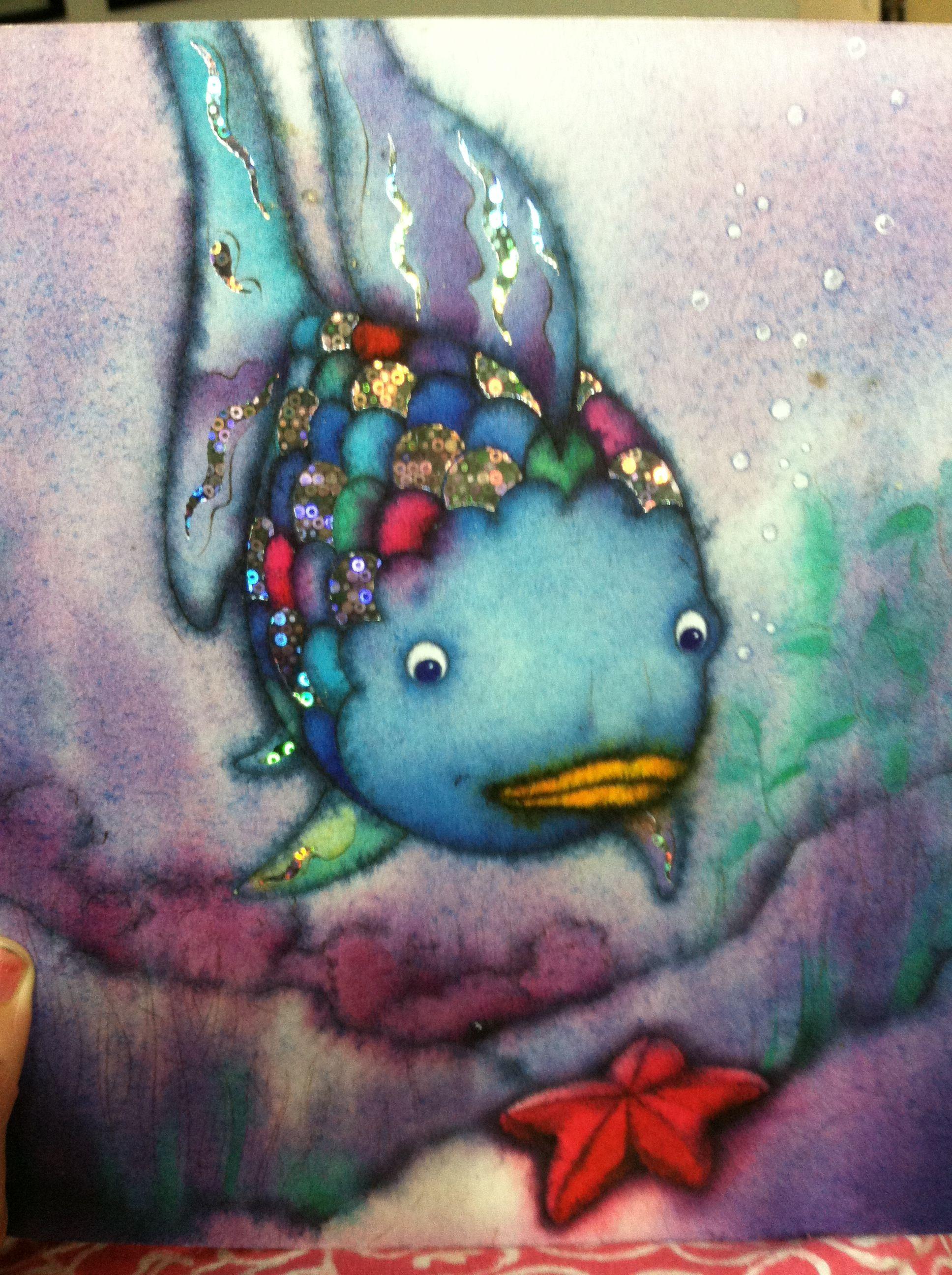 Next Tattoo The Rainbow Fish My Favorite Children S Book