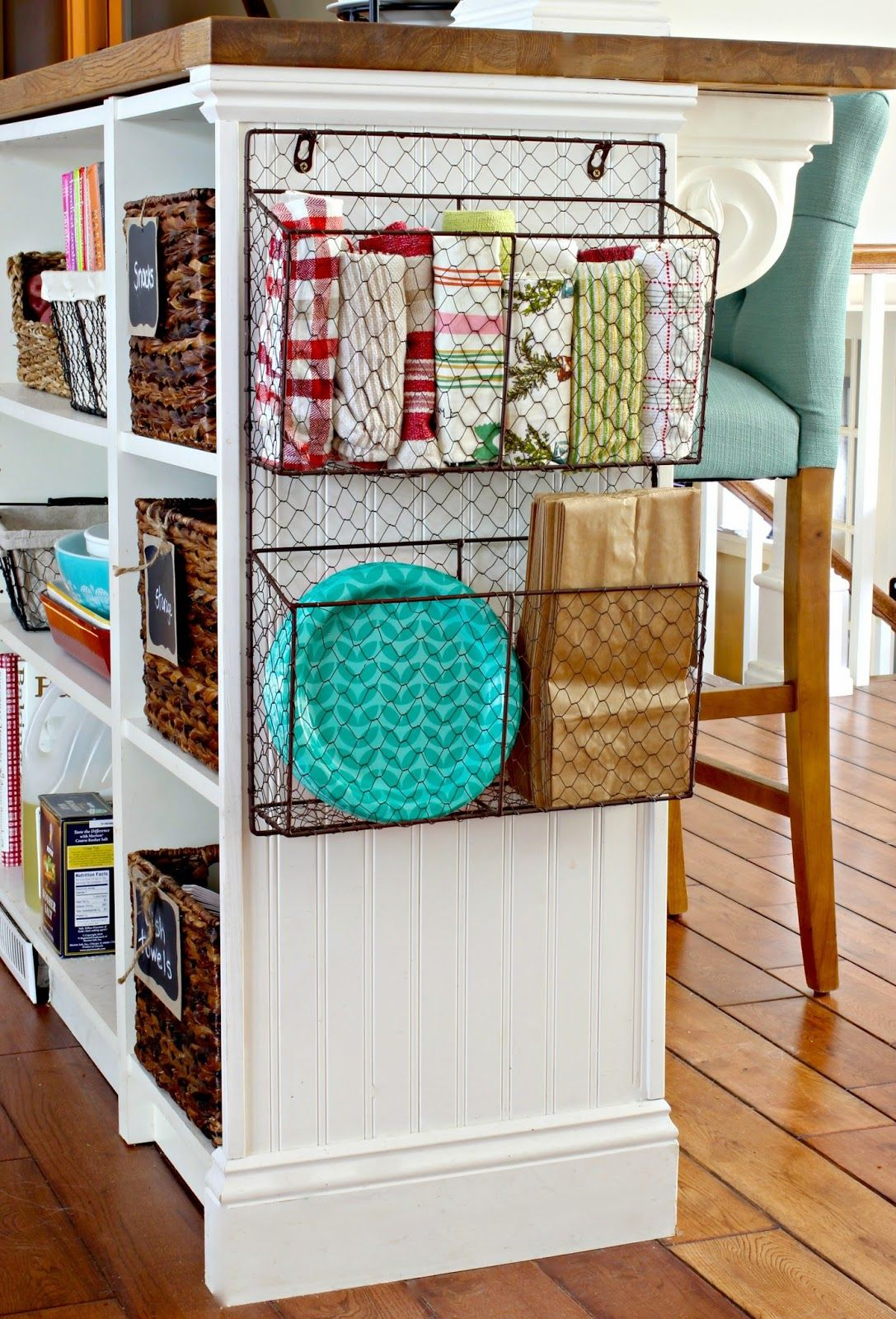 diy kitchen decor on pinterest kitchen islands cutting board and pot racks on kitchen island ideas organization id=54297
